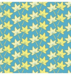 pattern of autumn maple leaves vector image vector image