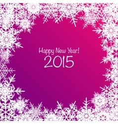 Shiny Happy New Year background vector image vector image