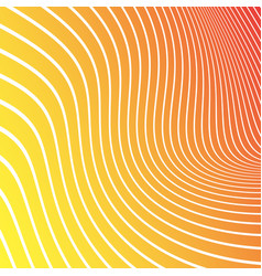 abstract yellow orange red background with white vector image