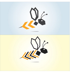 bee vector image