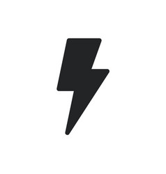 Bolt icon lightning symbol pictograph vector