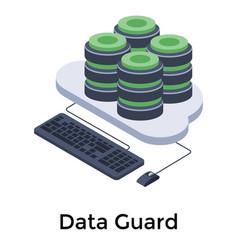 Database hosting vector