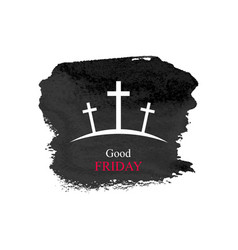 good friday vector image