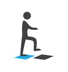 person walking vector image