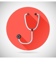 Physician Therapist Care Survey Symbol Stethoscope vector