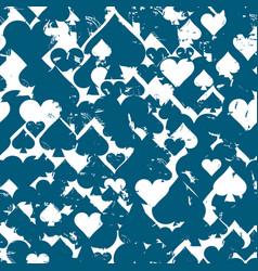 seamless patterns with icons of abstract vector image