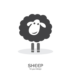Sheep design vector