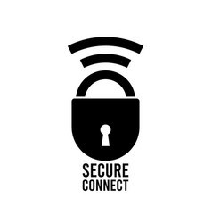 ssl secure https certificate connection icon vector image