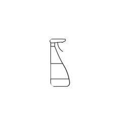 window cleaner icon vector image