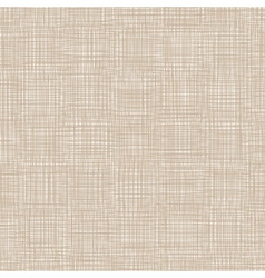 Brown Natural Linen vector image