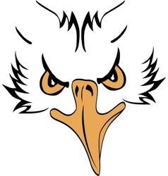 Eagle Head Profile vector image vector image