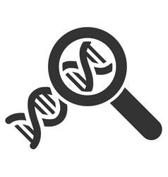 Genetics icon vector