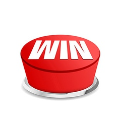 Time to win button sign template vector image