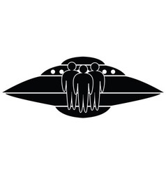 Ufo spaceship vector