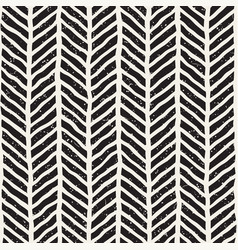 seamless pattern with hand drawn brush strokes vector image