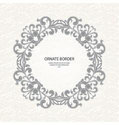 Decorative borders Graphic design page vector