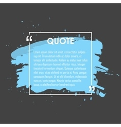 Quote text bubble Commas note message and vector