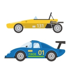 Retro sport car vector image