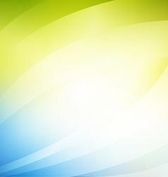 wave background set vector image vector image