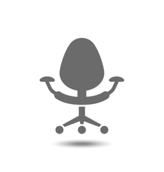 Office chair icon isolated on white background vector image vector image