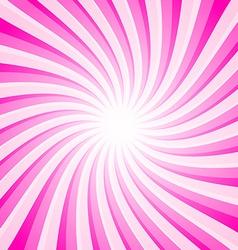 Pink background - spiral - star shape pattern vector