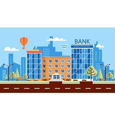 bank number one vector image