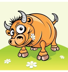 Cartoon Bull vector