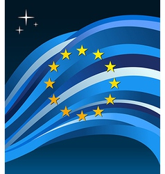 EuropeanUnion flag background vector
