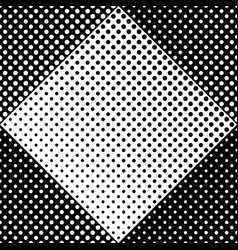 geometrical black and white dot pattern background vector image