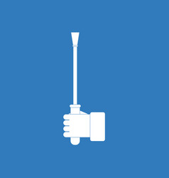Icon on background sex stick in hand vector