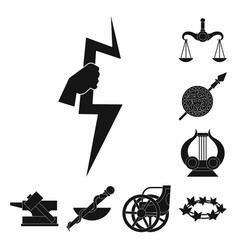 Isolated object religion and myths symbol vector
