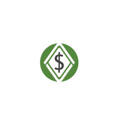 money logo template vector image