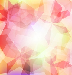 Background Abstract cube 1 vector image vector image