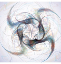 Abstract fractal background vector image