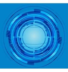 Blue Abstract Circle vector