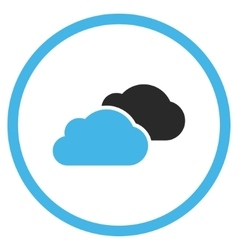 Clouds Flat Icon vector