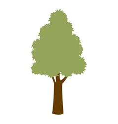 Green tree natural enviornment ecology symbol vector