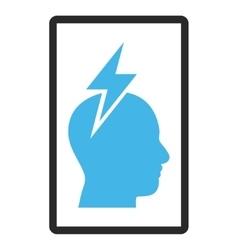 Headache Framed Icon vector