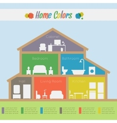 House infographic vector