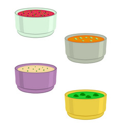 The set soups vector