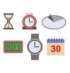 Time icon asset vector