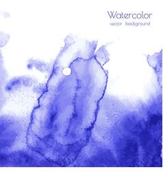 Turquoise navy blue indigo watercolor texture vector