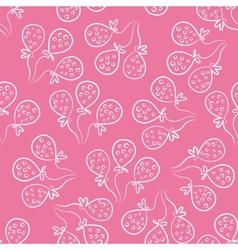 Seamless pattern with balloons Cute doodle style vector image vector image
