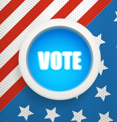 Composition for The Ellection Day vector image