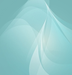 Abstract Shape on Light Blue Background vector
