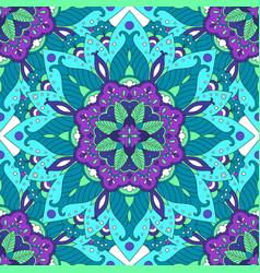 colorful mandala pattern vector image