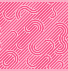 colorful seamless striped pattern - creative vector image