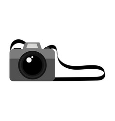 isolated hipster camera icon vector image