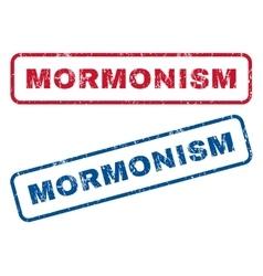 Mormonism Rubber Stamps vector