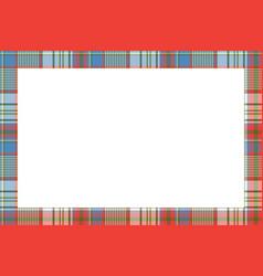 Rectangle frame vintage pattern design template vector
